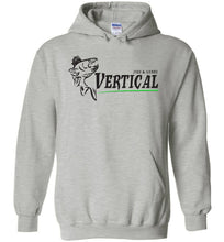 Load image into Gallery viewer, Vertical Jigs and Lures Logo Hoodie in Sports Grey