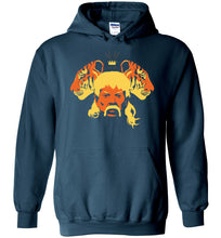Load image into Gallery viewer, The Tiger King Hoodie in Legion Blue