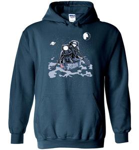 Space Force Astronaut Hoodie in Legion Blue