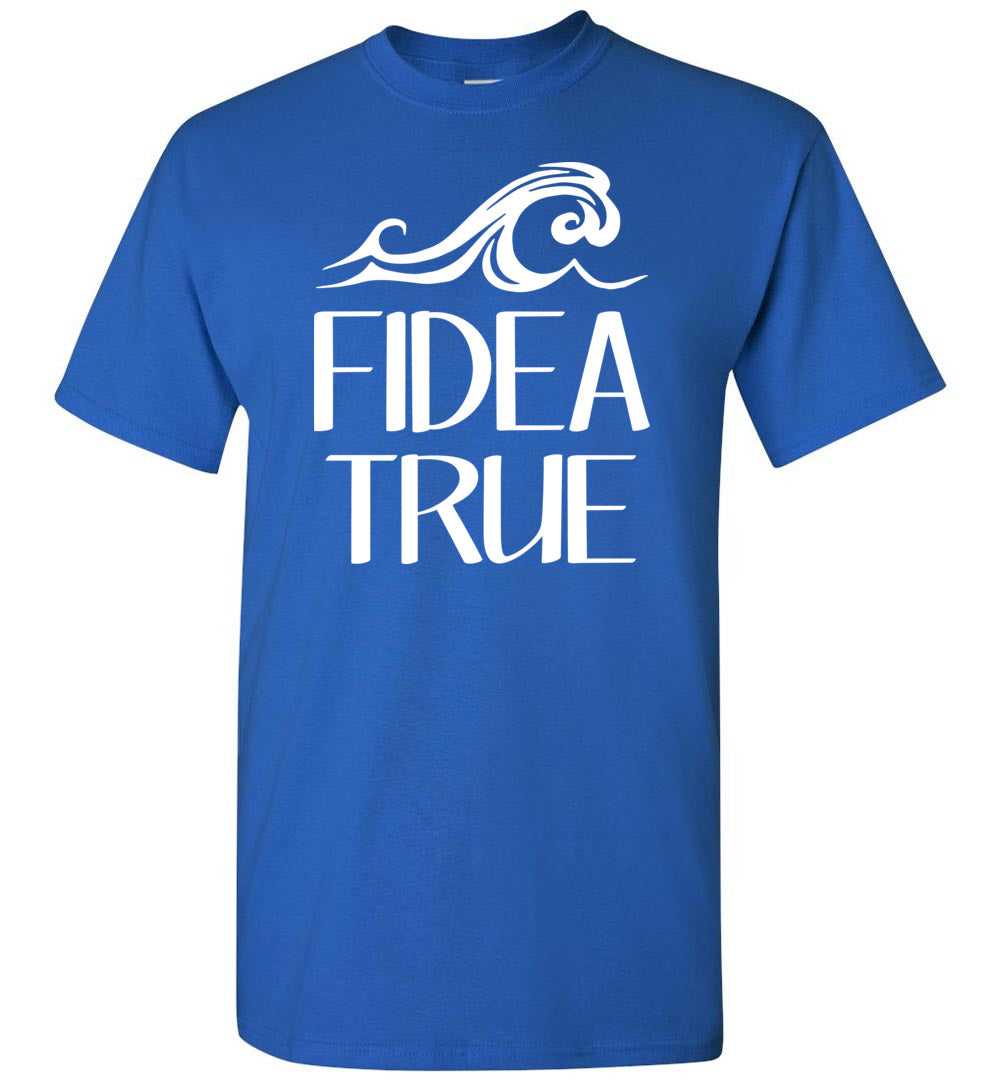 House of Fidea T-Shirt in Royal Blue