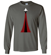 Load image into Gallery viewer, Space Force Physical Training Long Sleeve T-Shirt in Charcoal