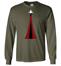 Load image into Gallery viewer, Space Force Physical Training Long Sleeve T-Shirt in Military Green