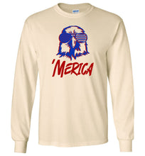 Load image into Gallery viewer, Slick Merica Eagle Long Sleeve T-Shirt