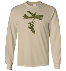 Dropping F Bombs Long Sleeve T-Shirt in Sand