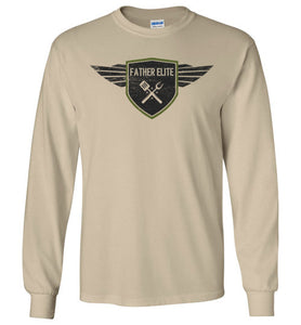 Father Elite Long Sleeve T-Shirt in Sand