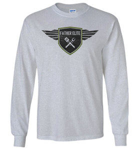 Father Elite Long Sleeve T-Shirt in Sports Grey