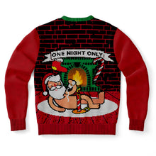 Load image into Gallery viewer, Santa for One Night Only Ugly Sweater