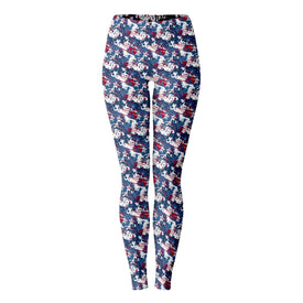 Patriotic Splash Women's Leggings