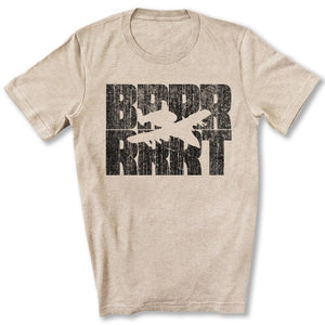 A-10 Warthog BRRRRT T-Shirt in Heather Tan