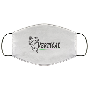 Vertical Jigs Face Mask in White