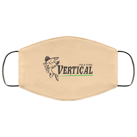 Vertical Jigs Face Mask in Vegas Gold