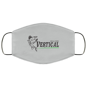 Vertical Jigs Face Mask in Silver