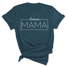 Load image into Gallery viewer, American Mama Women's T-Shirt in Deep Teal