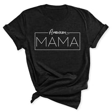 Load image into Gallery viewer, American Mama Women's T-Shirt in Black Heather