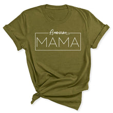 Load image into Gallery viewer, American Mama Women's T-Shirt in Olive Green