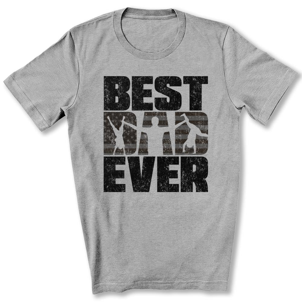 Best Dad Ever T-Shirt in Athletic Heather