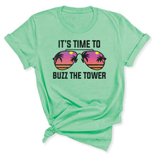 Load image into Gallery viewer, Buzz the Tower Women's T-Shirt in Mint
