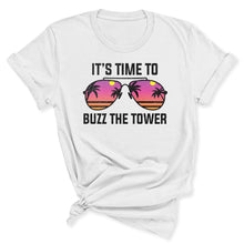 Load image into Gallery viewer, Buzz the Tower Women's T-Shirt in White