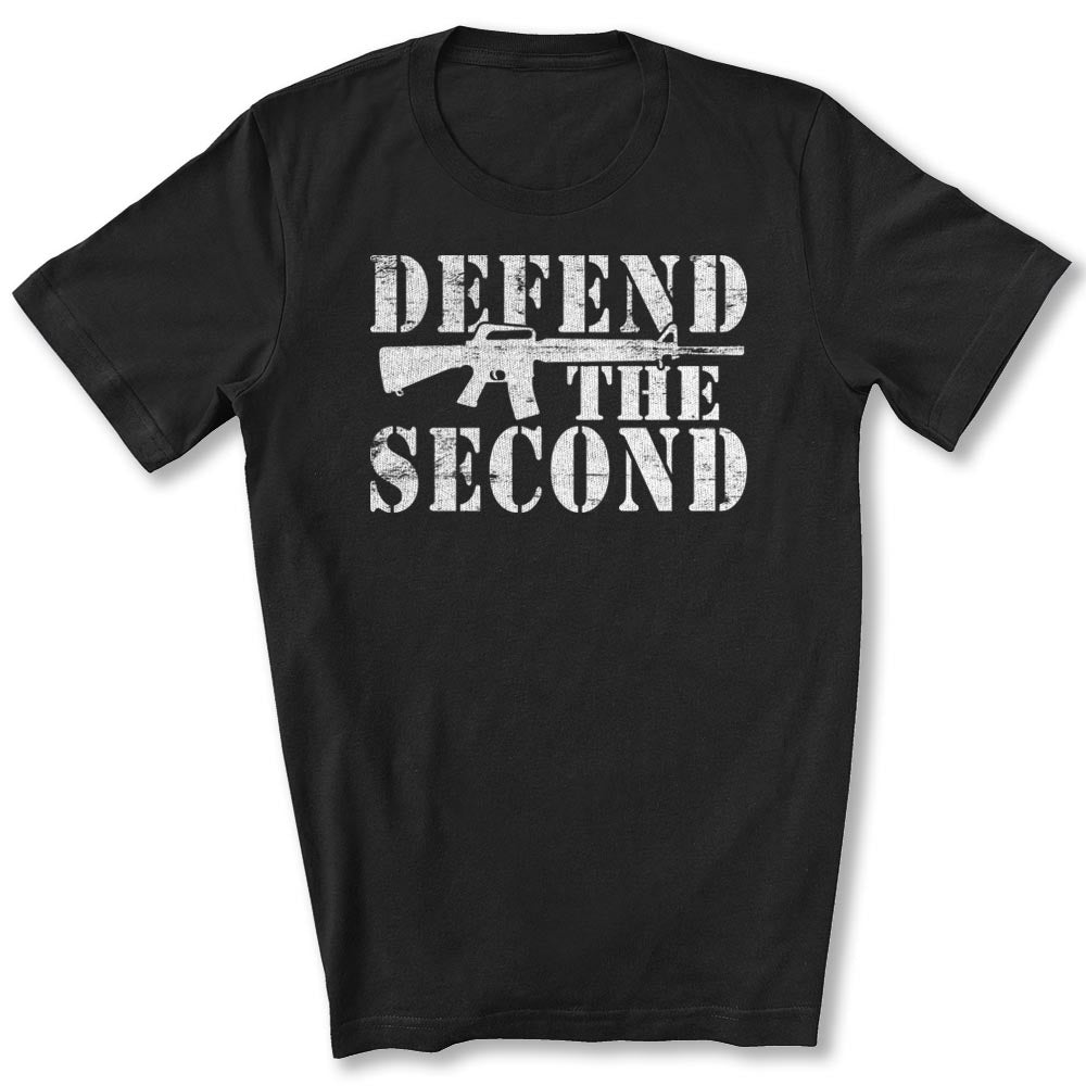 Defend the Second T-Shirt in Black