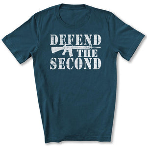Defend the Second T-Shirt in Deep Teal