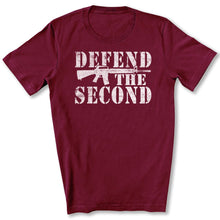 Load image into Gallery viewer, Defend the Second T-Shirt in Maroon