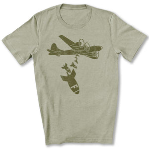 Dropping F Bombs T-Shirt in Heather Stone