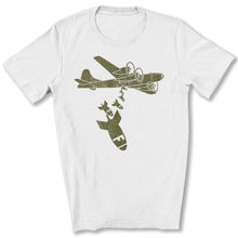 Load image into Gallery viewer, Dropping F Bombs T-Shirt in White