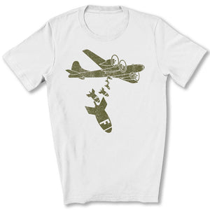 Dropping F Bombs T-Shirt in White
