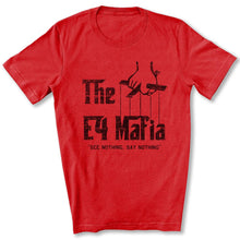Load image into Gallery viewer, E-4 Mafia T-Shirt in Red