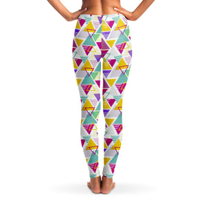 90's Retro Oldschool v2 Women's Leggings Back Model