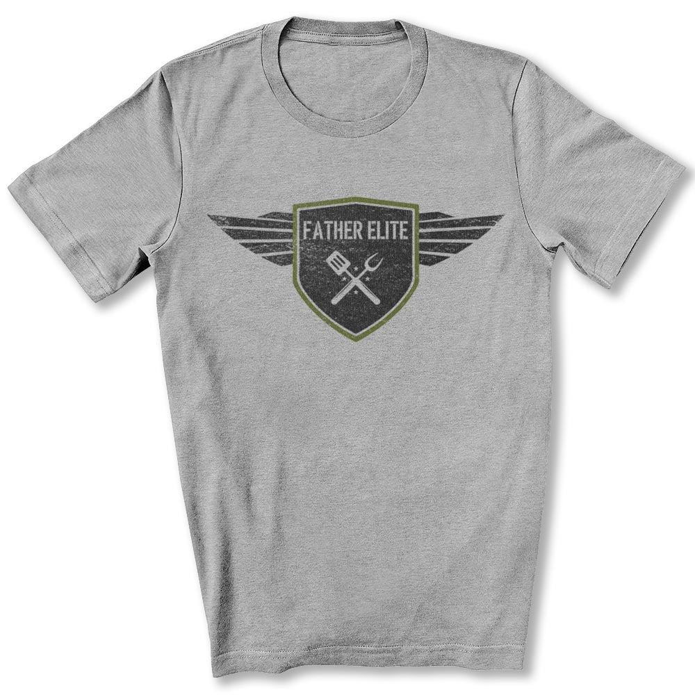 Father Elite T-Shirt in Athletic Heather