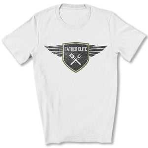 Father Elite T-Shirt in White