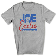Load image into Gallery viewer, Joe Exotic for President T-Shirt in Athletic Heather