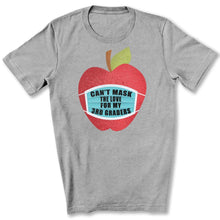 Load image into Gallery viewer, Can't Mask The Love - 3rd Graders T-Shirt in Athletic Heather