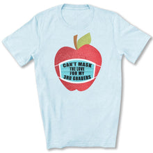 Load image into Gallery viewer, Can't Mask The Love - 3rd Graders T-Shirt in Heather Ice Blue