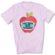 Load image into Gallery viewer, Can't Mask The Love - 3rd Graders T-Shirt in Heather Prism Lilac