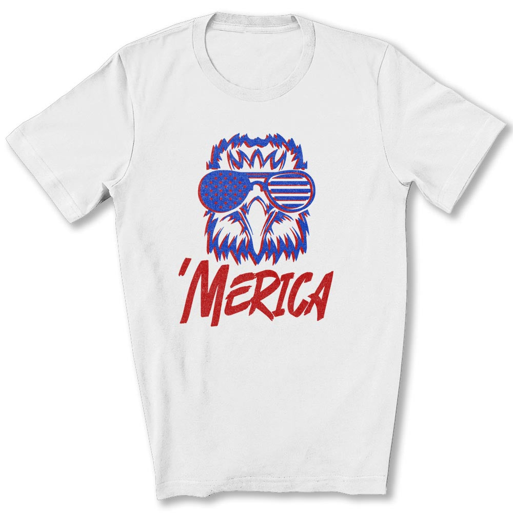Spiked Merica Eagle T-Shirt