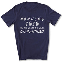 Load image into Gallery viewer, Quarantined Nonners T-Shirt in Navy