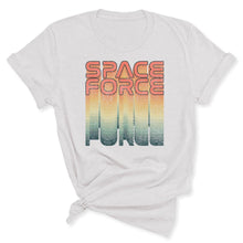 Load image into Gallery viewer, Rainbow Space Force Women's T-Shirt in Ash
