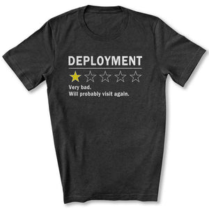 One Star Deployment T-Shirt