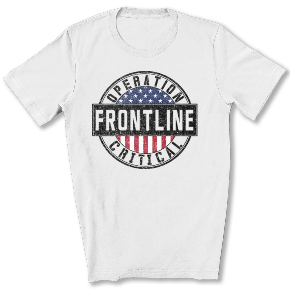 Operation Critical Frontline T-Shirt in White