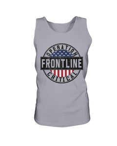 Operation Critical Frontline Bro Tank in Sports Grey