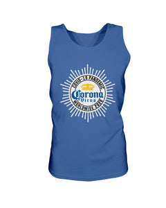 Worldwide Coronavirus Pandemic 2020 Bro Tank in Royal Blue