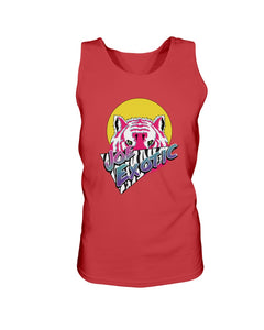Joe Exotic Retro Bro Tank in Red