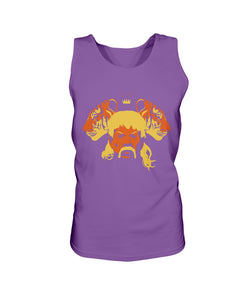 The Tiger King Bro Tank in Purple