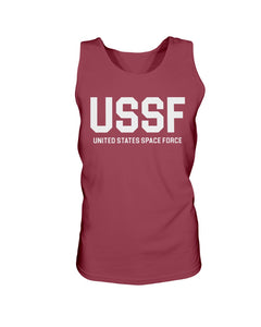 USSF Bro Tank in Cardinal Red