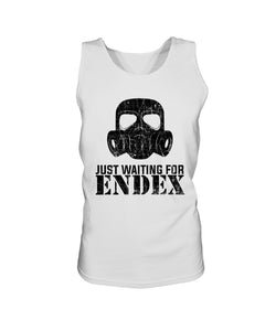 Just Waiting For ENDEX Bro Tank in White