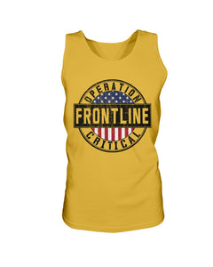 Operation Critical Frontline Bro Tank in Gold