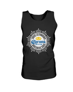 Worldwide Coronavirus Pandemic 2020 Bro Tank in Black