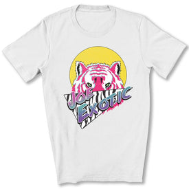 Joe Exotic Retro T-Shirt in White